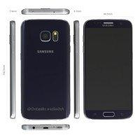 Samsung Galaxy S7 si mostra in una serie di immagini render