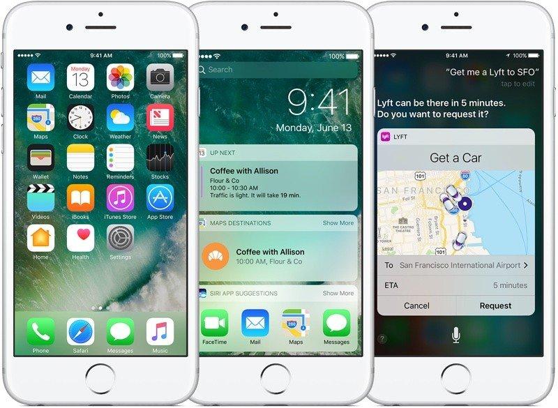 Apple rilascia iOS 10.0.3 per iPhone 7 ed iPhone 7 Plus