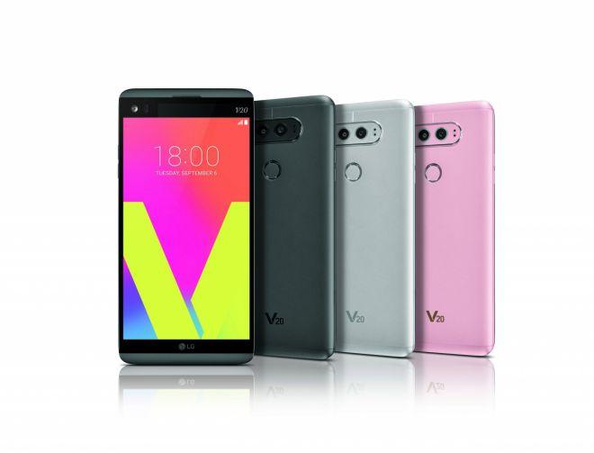 LG V20 annunciato ufficialmente: Android Nougat e doppia cam posteriore