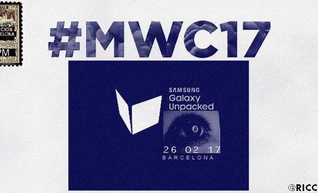 Samsung Galaxy S8, uscita prevista il 26 febbraio al MWC 2017