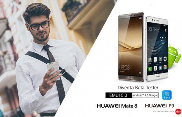 Huawei si aggiorna ad Android 7.0 Nougat