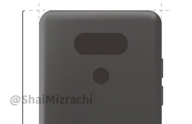LG G6: presentazione al MWC, nuovo Render