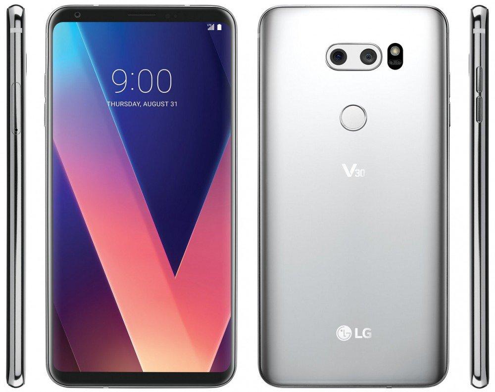 LG V30: design confermato da una prima immagine ufficiale