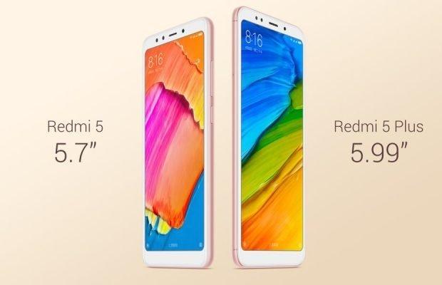Xiaomi Redmi 5 e 5 Plus annunciati ufficialmente: tutti i dettagli