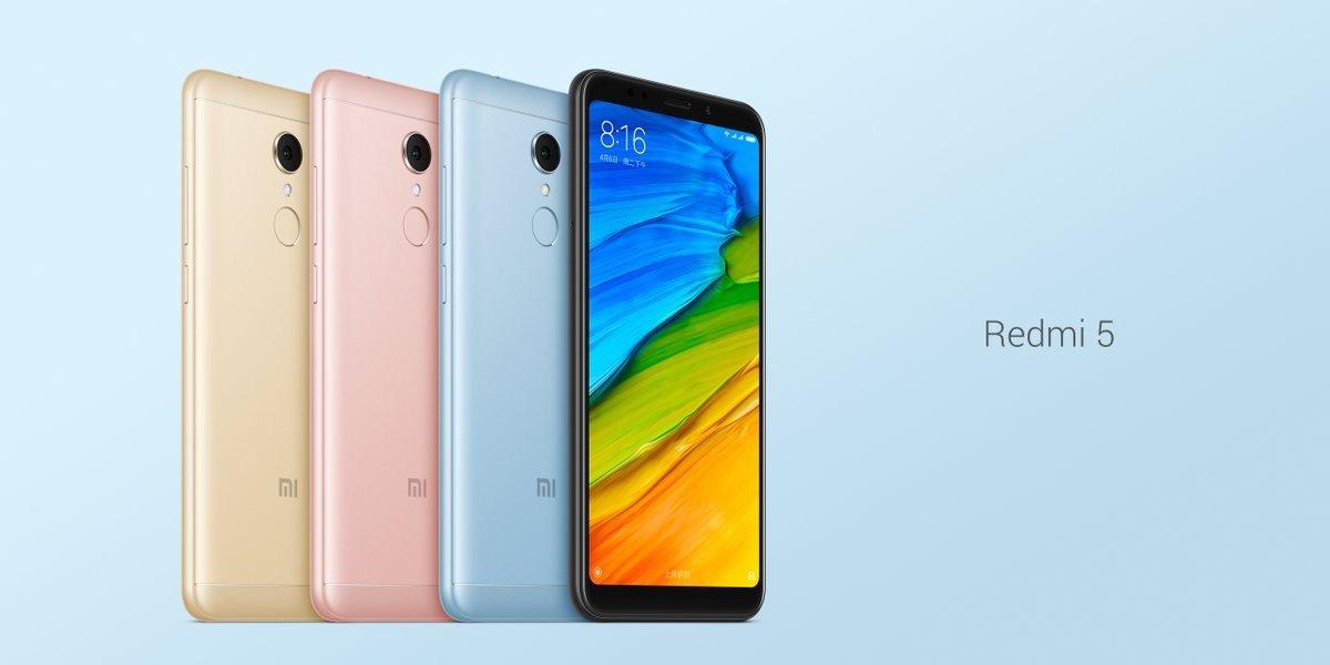Geekbuying apre il presale per Xiaomi Redmi 5 e Xiaomi Redmi 5 Plus