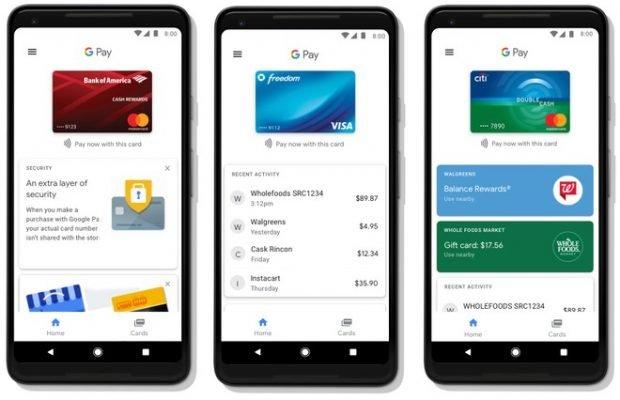 Google Pay: inizia la diffusione dell'applicazione su scala globale