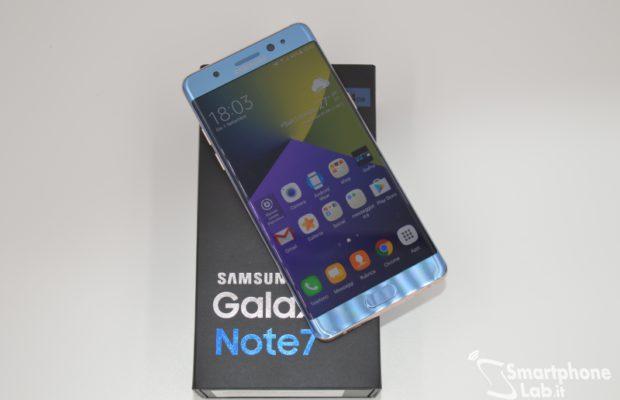Samsung Galaxy Note 7 FE ufficiale: al via le vendite! Nuove esplosioni in arrivo?