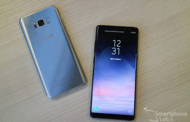 Samsung Galaxy Note 8 disponibile da oggi in Italia