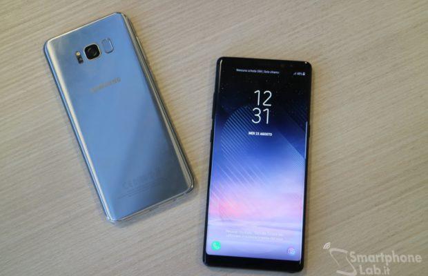 Vodafone Italia: offerte acquisto 'Samsung Galaxy Note8'