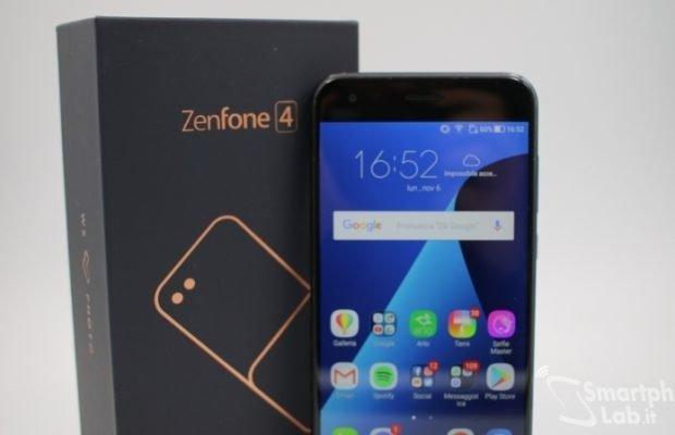 Asus Zenfone 4: l'aggiornamento ad Android 8.0 Oreo arriverà entro fine mese